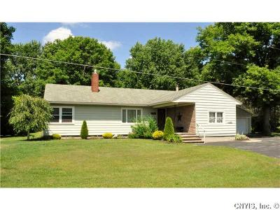 Croghan NY Single Family Home Sold: $125,000