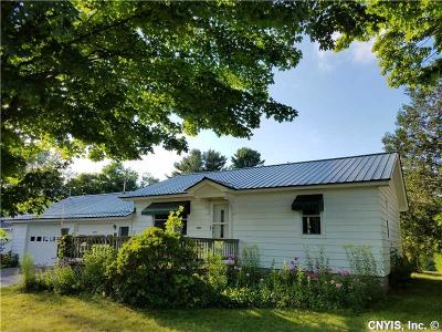 New Bremen NY Single Family Home S-Closed/Rented: $80,000