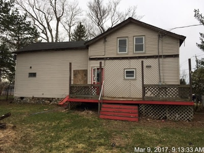 Sherman NY Single Family Home For Sale: $34,900