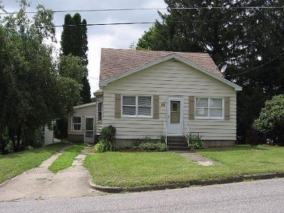 Jamestown NY Single Family Home For Sale: $69,500