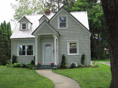 Jamestown NY Single Family Home For Sale: $79,500