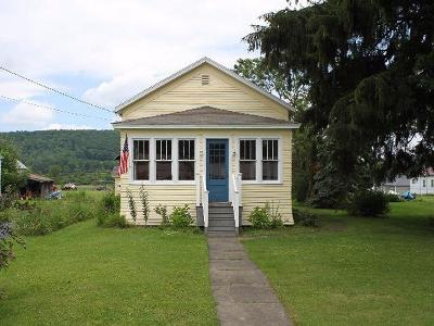 Steamburg NY Single Family Home For Sale: $59,900