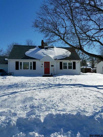 Schenectady NY Single Family Home Pend (Under Cntr): $129,900