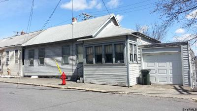 Cohoes NY Single Family Home For Sale: $49,900