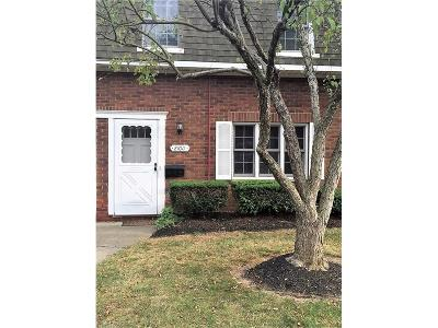 Fairview Park OH Condo/Townhouse Sold: $85,500