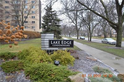 Condo/Townhouse For Sale: 10301 Lake Ave #601