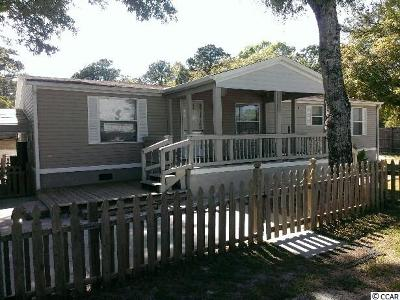 North Myrtle Beach SC Single Family Home Sold-Co-Op By Ccar Member: $99,000