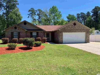 Myrtle Beach SC Single Family Home Active Under Contract: $189,900