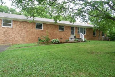 Lawrenceburg TN Single Family Home For Sale: $167,500