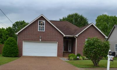 Single Family Home For Sale: 1018 Saddle Wood Dr