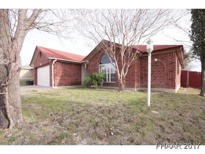 Harker Heights Single Family Home For Sale: 4202 Breckenridge Drive