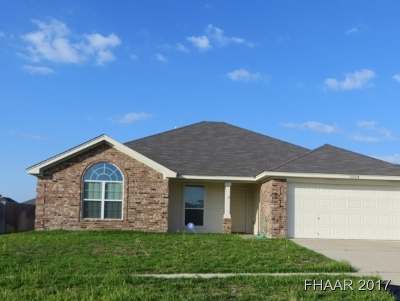 Harker Heights Single Family Home For Sale: 3204 Canadian River