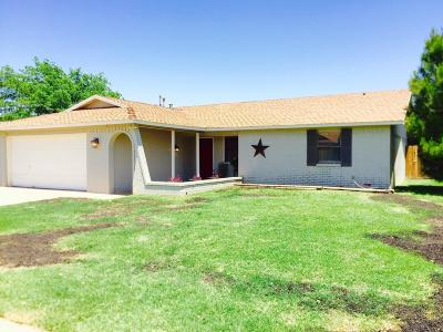 Lubbock TX Single Family Home Sold: $154,900