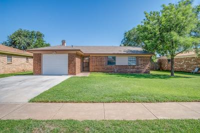 Lubbock TX Single Family Home Sold: $115,000
