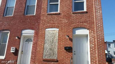 Baltimore MD Condo For Sale: $31,990