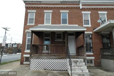 Baltimore MD Single Family Home Sale Pending: $69,900