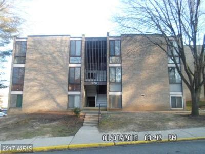 Greenbelt MD Condo For Sale: $120,000