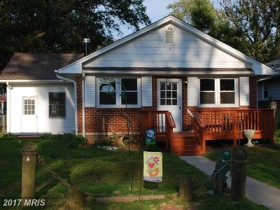 Colonial Beach VA Single Family Home For Sale: $152,000