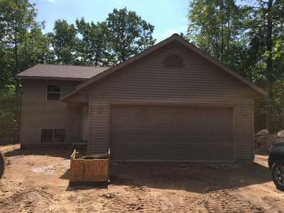 Single Family Home For Sale: On Spider Lake Rd