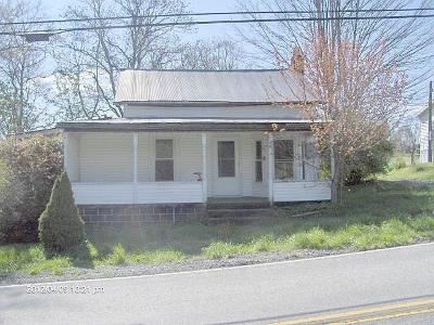 Renick WV Single Family Home Closed: $20,900
