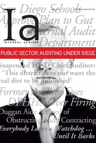 Internal Auditor - June Issue