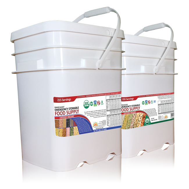 Health Ranger Emergency Storable buckets