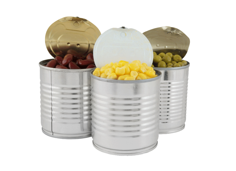storable canned food