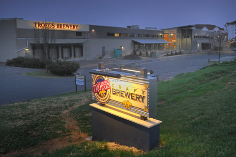 Tröegs began construction of their new brewery in 2010 and moved from Harrisburg to Hershey in fall 2011. Grand opening celebrations were held during November of that year.