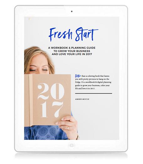 FreshStart Workbook Amber McCue Niceops