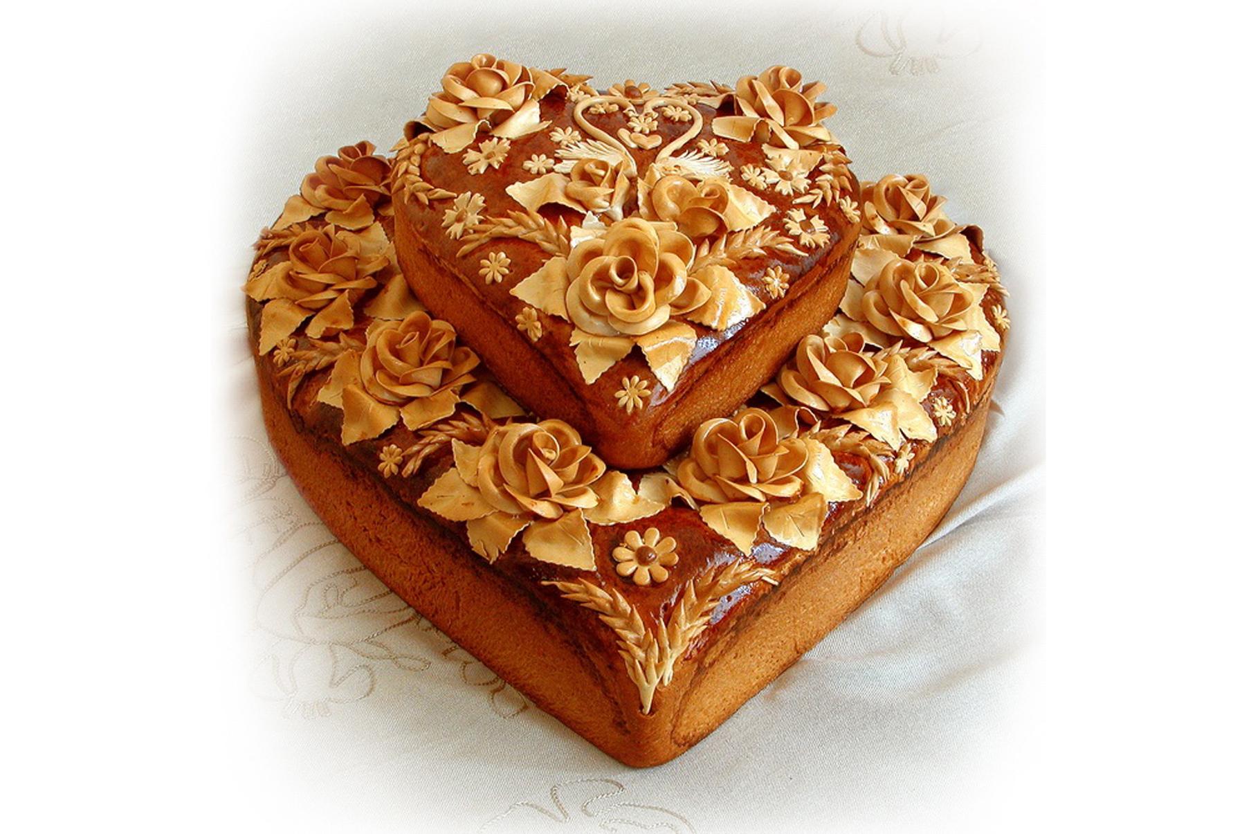 Пирог на свадьбу своими руками