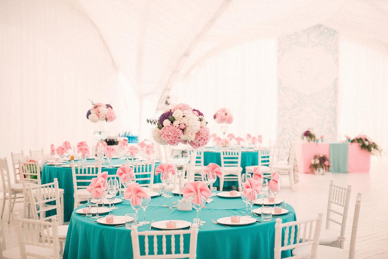Свадьба в розовом цвете: фото и идеи 22