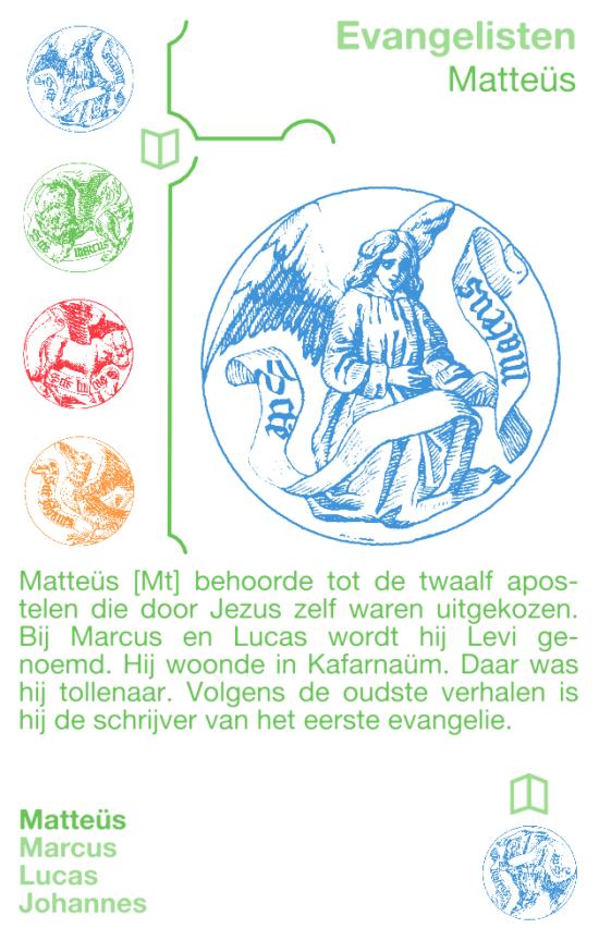 Kwartetkaart Matteüs