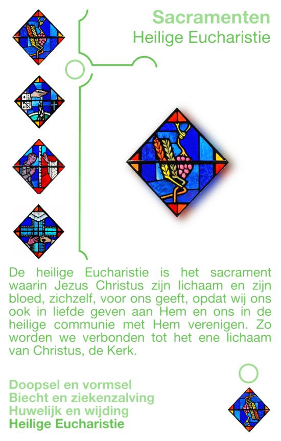 Kwartetkaart Heilige Eucharistie