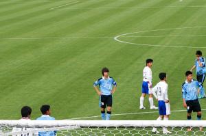 3点目の起点となったボール奪取を見せた田中碧選手