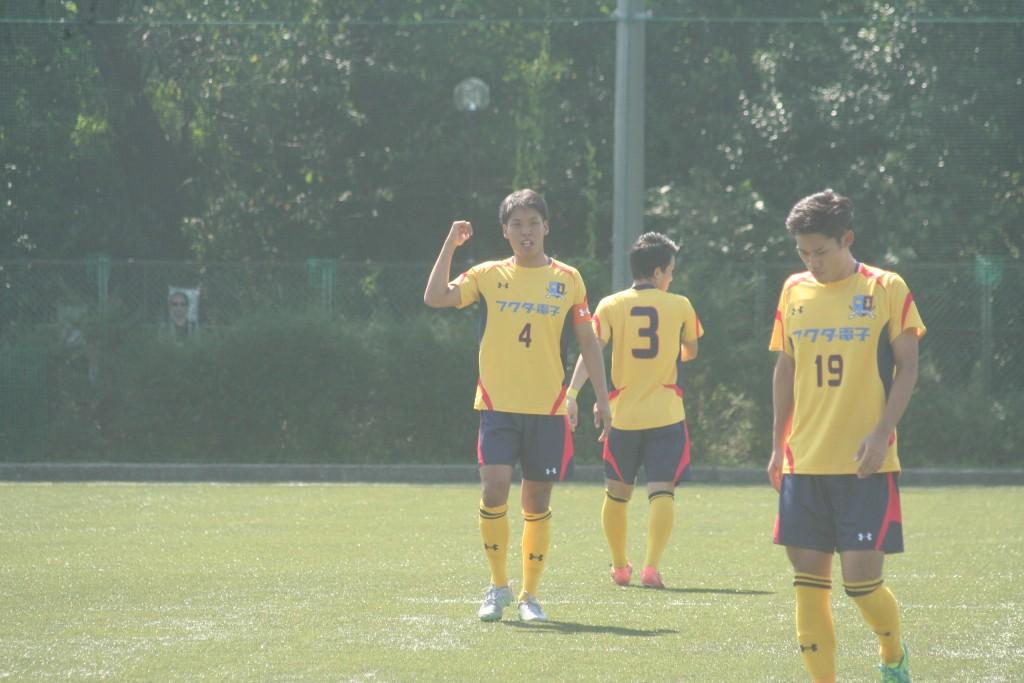 ゲームキャプテンを務める大和田達選手