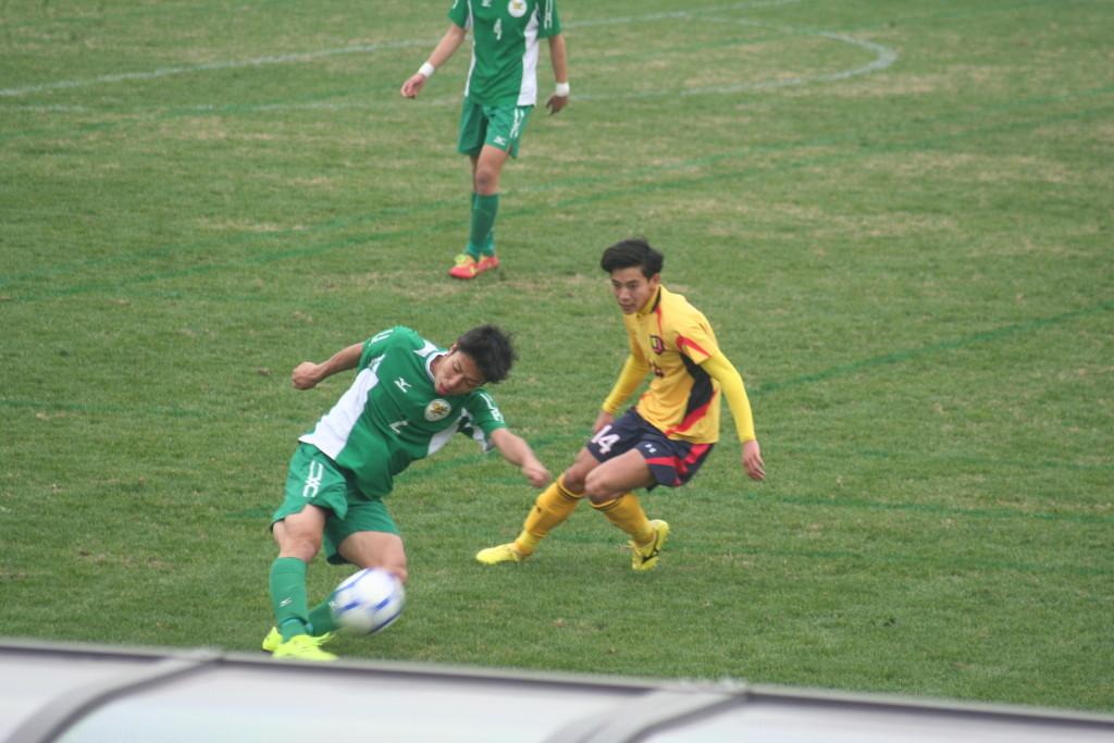 國學院久我山出身の渡辺夏彦選手と太田選手は2013年のプリンスリーグ関東2部で対戦した