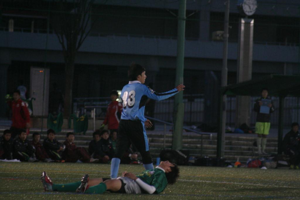 藤井柾人選手が決めて勝ち越した