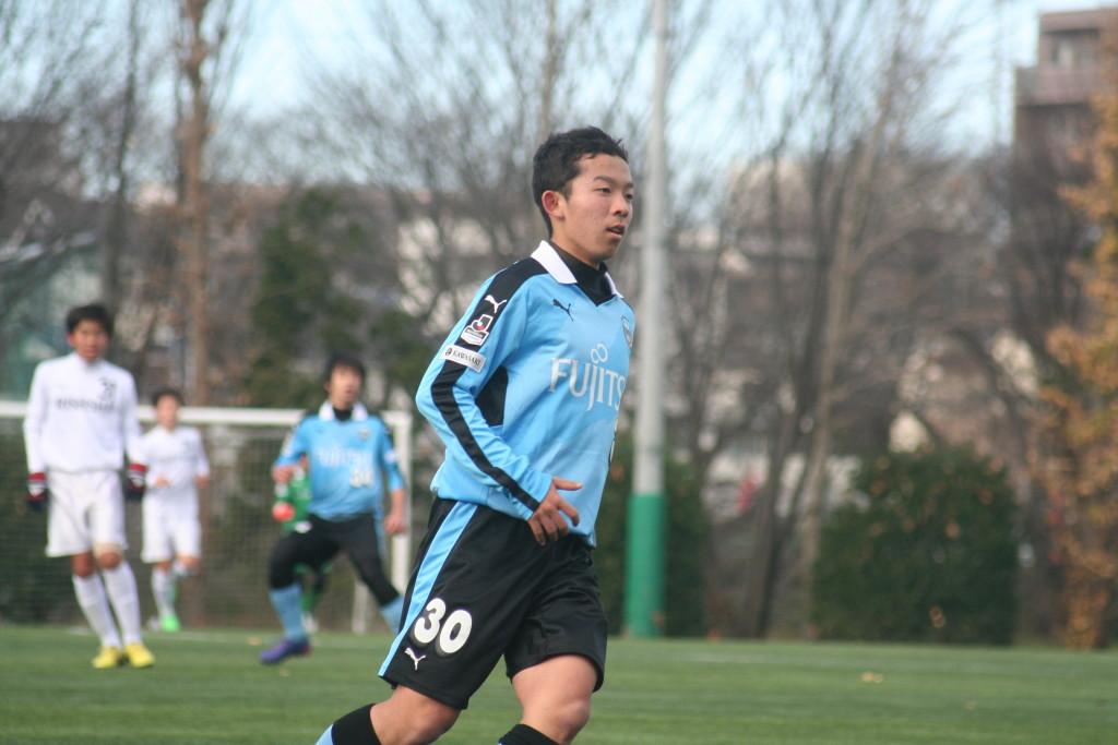 FWで出場した桝谷岳良選手
