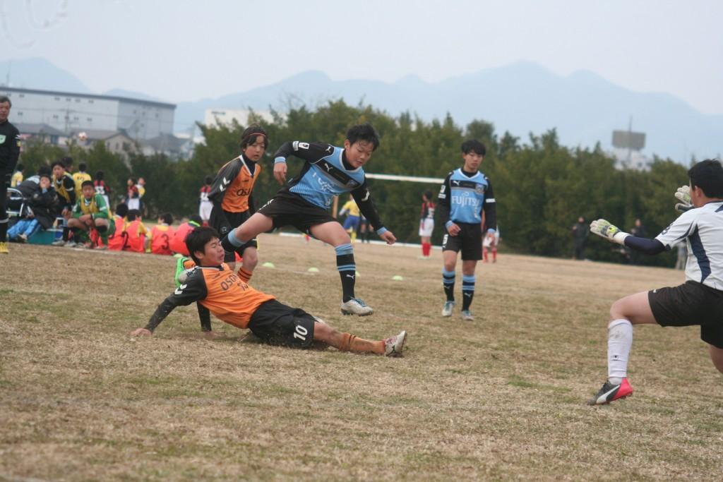 田鎖勇作選手もゴールを狙う