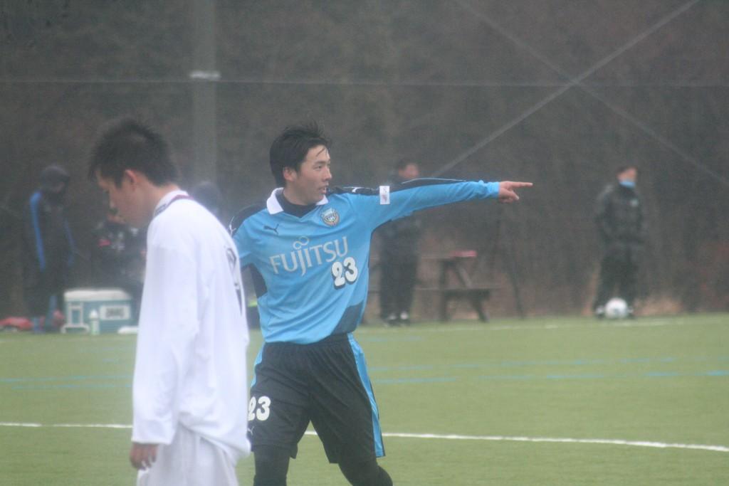 藤井柾人選手も怪我から戻り練習試合に出場した