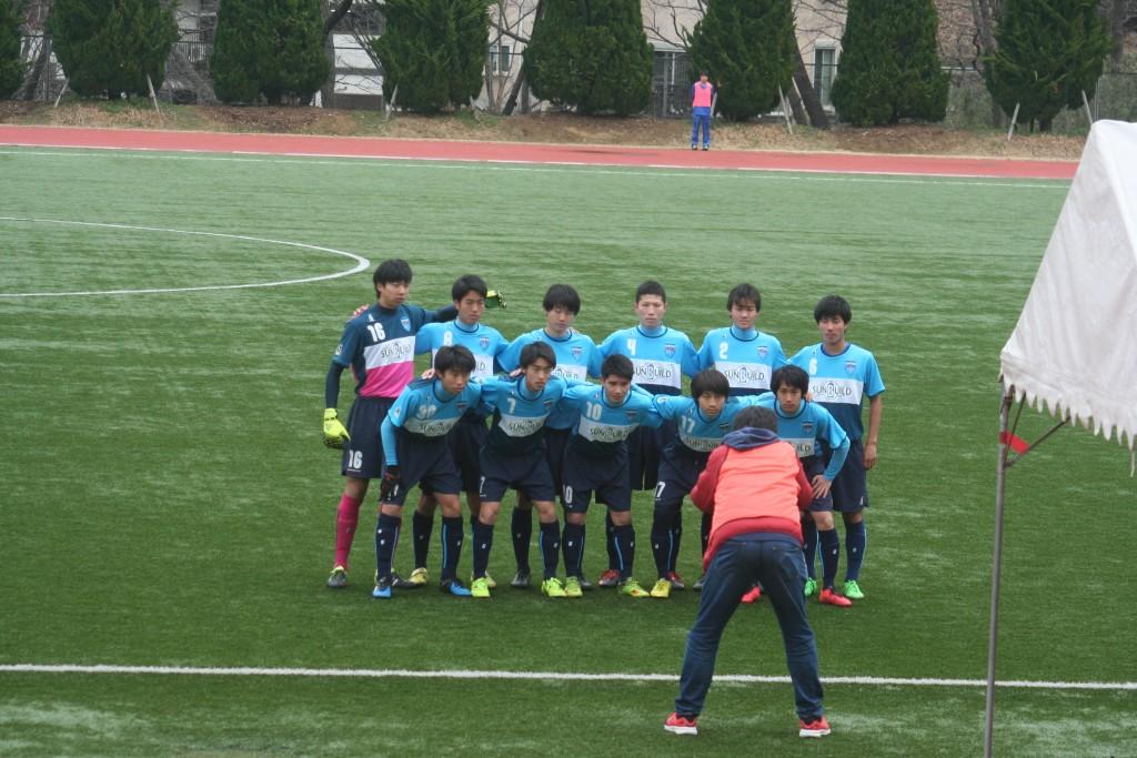 横浜FCの先発メンバー