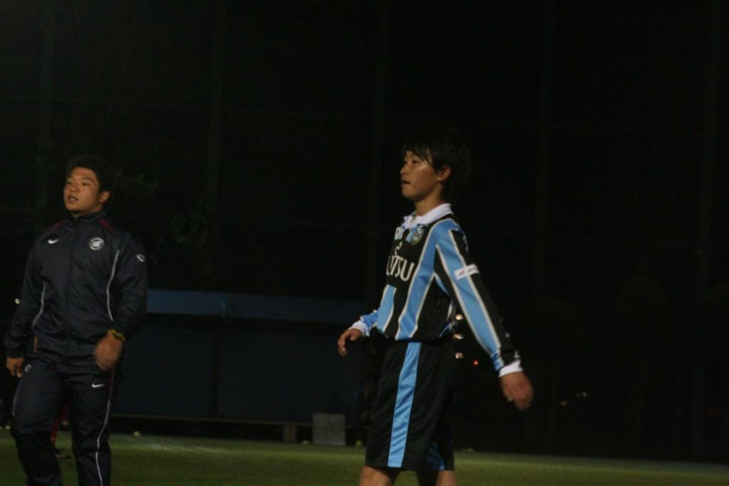 練習試合に出場した小澤星夜選手