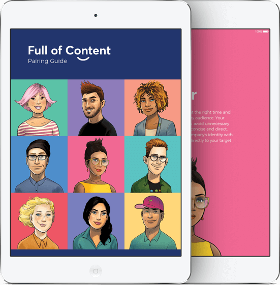 Full of Content Ebook Icon