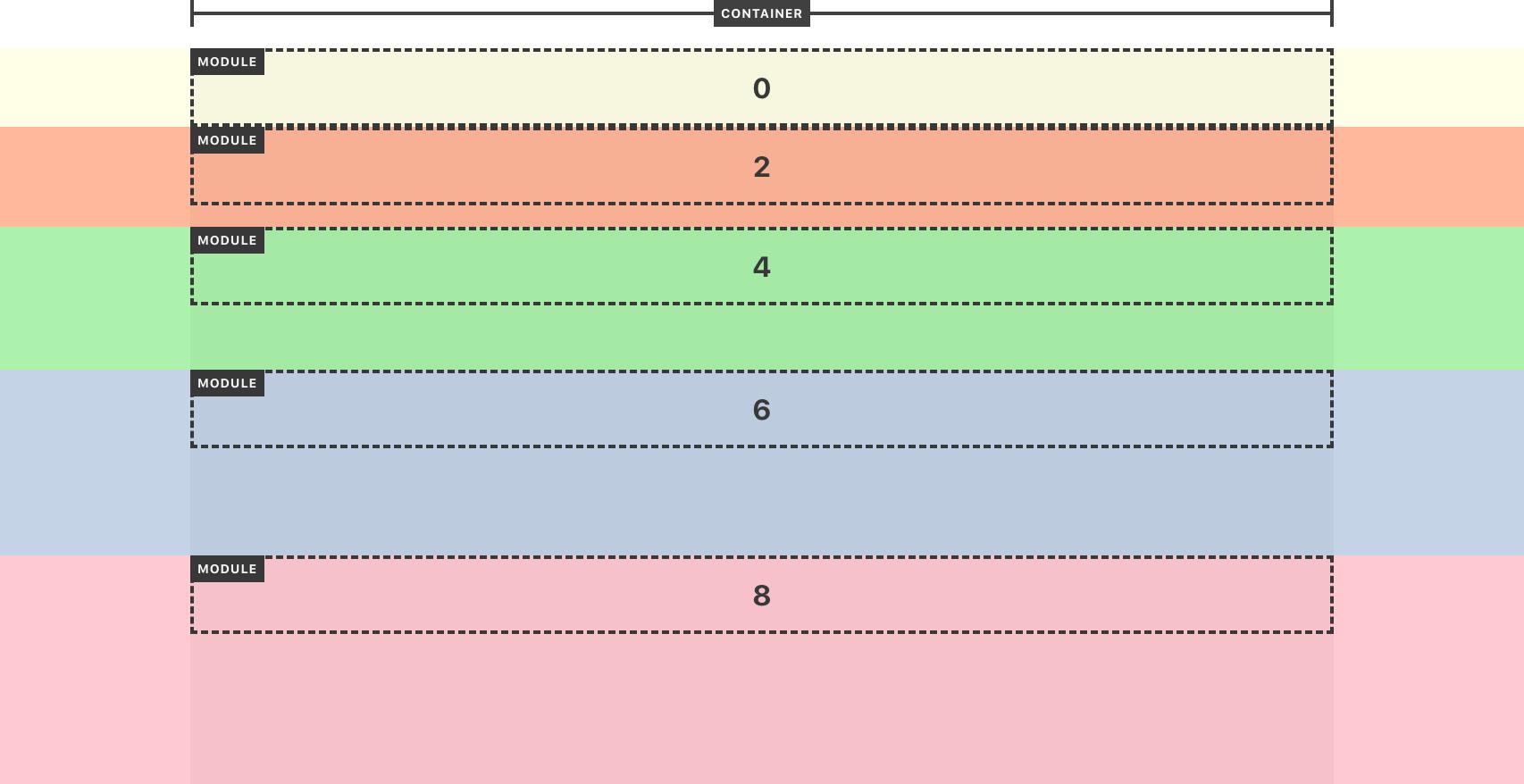 Module Inner Bottom Spacing Options