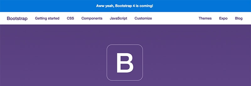 Bootstrap 4 alpha is comming