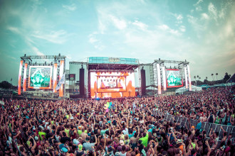 Mainstage at Sunset Music Festival 2014