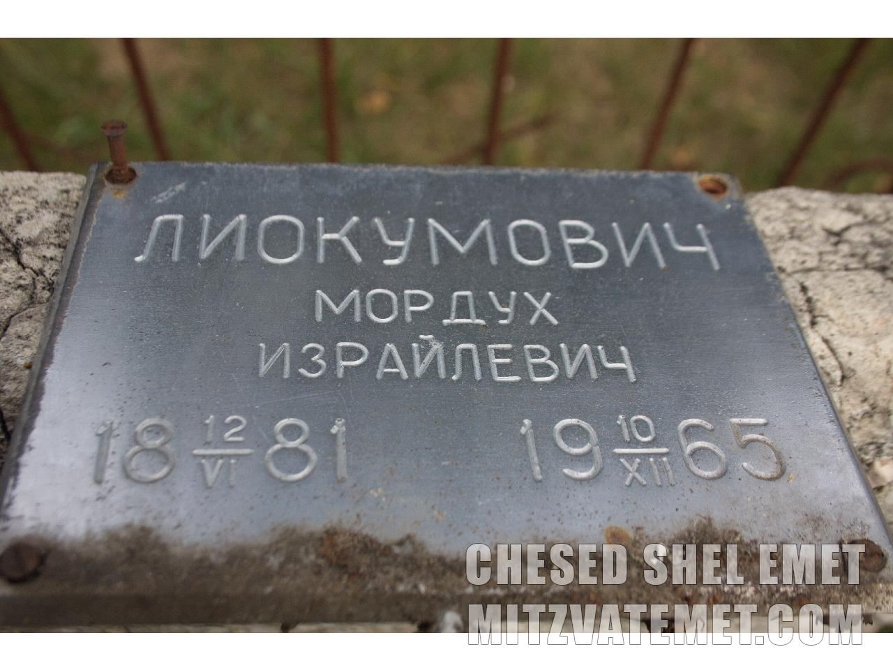 Лиокумович дмитрий семенович фото