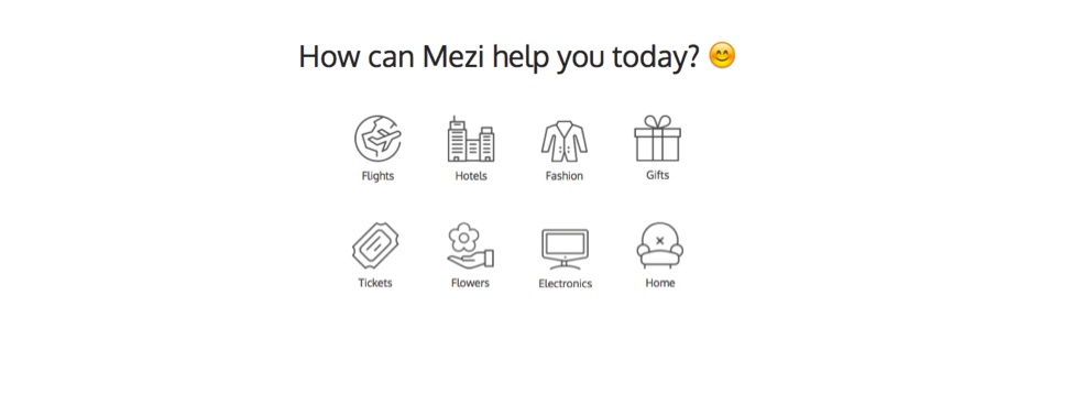 Mezi Personal Shopping Assistants