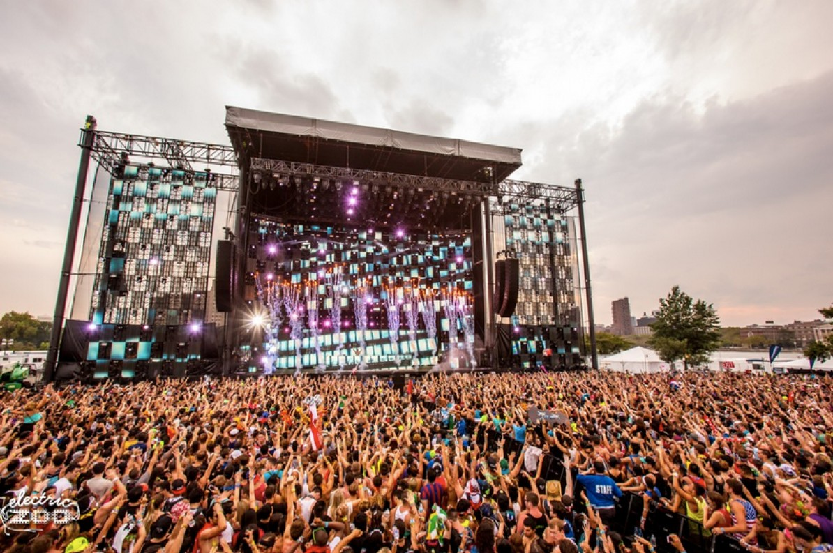 Main Stage West will become  Electric Zoo 2014 Main Stage