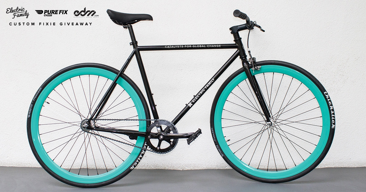 Electric Family Is Giving Away a Fully Custom Fixie To Celebrate Their Spring Line